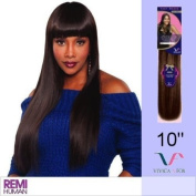 INTYKW10S (Vivica A. Fox - Intrigue) - Remy Yaki Hair Weave in 1B