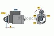 Bosch 0986016130 Starter