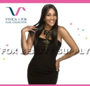 INTYKW10B (Vivica A. Fox - Intrigue) - Remy Yaki Hair Weave in JET BLACK