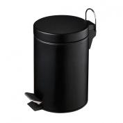 Enkojha Pedal Bin 3Ltr Capacity Matt Black Colour With New Design