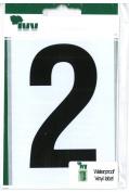 Wheelie Bin Number Black 2