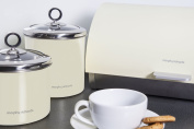 Morphy Richards Accents Roll Top Bread Bin - Cream