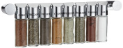 Emsa Galerie Spice Rack with 8 Spices 40 cm Chrome