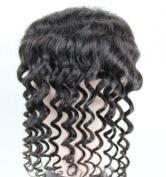 MID Part 10cm x10cm Lace Closure 30cm 100%remy Brazilian Virgin Human Hair Deep Wave