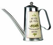 Olive oil can 'Aceite de Oliva' - Stainless steel