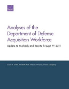 Analyses of the Department of Defense Acquisition Workforce