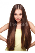 "20""-60cm Remy (Remi) Human Hair Clip in Extensions Dark Auburn (Colour #33) 9 Pieces"
