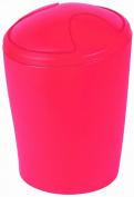 Spirella Move Frosty Red Waste Bin Medium Polypropylen Red Height 21 cm x Width 15 cm