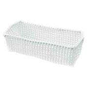 Möve 40423002 Storage Basket Tube-Shaped White