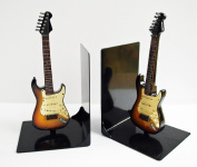 Fender Stratocaster Bookends - Sunburst
