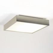 Taketa Bathroom Ceiling Light in Matt Nickel
