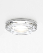 Mint Round Bathroom Ceiling Downlight in Polished Chrome