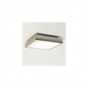 Taketa Plus Bathroom Ceiling Light in Matt Nickel