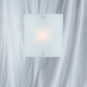 Chrome Finish Interior Wall Light with Frosted Glass, 1087-1