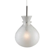 Markslojd Lillesand Ceiling/Window Pendant, Frosted Glass