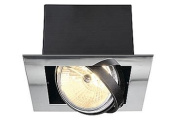 Commercial Downlights - Aixlight Flat Single QRB111 (Chrome)