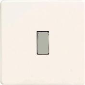 Rocker Switch, Premium White, Screwless Flat Plate 1 gang 2 way 10 amp, XDQ1S