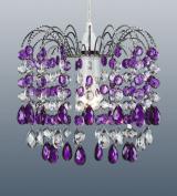 Barcelona Purple Acrylic Lampshade