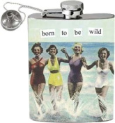 Anne Taintor Born to be Wild Hip Flask