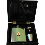 Luton Town 'The Hatters' Football Club 180ml Hip Flask Gift Set