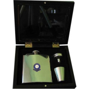 Mansfield Town 'The Stags' Football Club 180ml Hip Flask Gift Set
