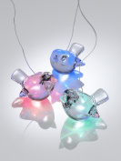 Battery Operated Colour Changing Mobile - Robins