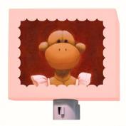 Oopsy Daisy - Ballerina Monkey Nightlight