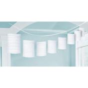 White Paper Lantern Garland 3.65m