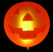 INFLATABLE GLOW HALLOWEEN PUMPKIN COMPLETE WITH GLOW STICK