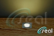 10 x 30mm LED Lights Deck / Decking / Kitchen Plinth WARM WHITE Square