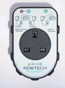 Kewtech PATADAPTOR1 Portable Appliance Adaptor Box For 17th Edition Multifunction Testers