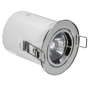 12v MR16 Aluminium Fixed Acoustic Rated Downlight Fire Protection