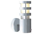 Darwin One Light Outdoor Wall Bracket in Aluminium