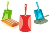 TRIPLE CRUMB BRUSH table sweeper COLOUR VARIES