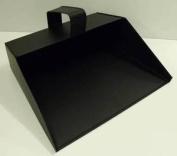 Traditional Metal Hooded Dustpan Strong Metal Enclosed Dust pan Industrial Large Dustpan