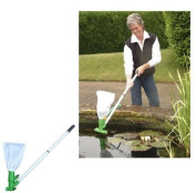 Pondvac Pack Pond Vacuum Cleaner with Net Attachment .Keep your pond crystal clear