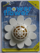 Power-Flower Shower Drain Cleaner & Freshener with Refill pack