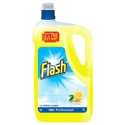 Flash Crisp Lemon All Purpose Cleaner 1 x 5L