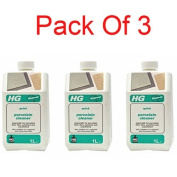 HG Quick Porcelain Cleaner 1 Litre (pack of 3) - 184100106 x 3