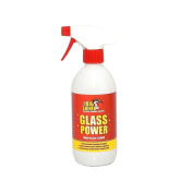 Strong solvent glass cleaner for tough jobs - GLASS POWER 500ml from TheBigShiner