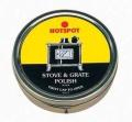 Manor Stove & Grate Polish Black 170g TIN