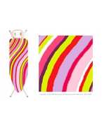 Home & Garden Direct Minky Easy Fit Elasticated Ironing Board Cover 110cm x 35cm Assorted Designs