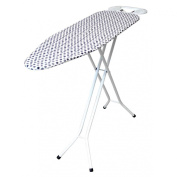 Iron Worx 110 x 33 cm Ironing Board with Cotton Cover, White