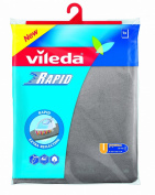 Vileda 1000918 Ironing Board Rapid Viva Express Universal Suitable for all Ironing Surfaces from 38-45cm Wide and 120-130cm Long