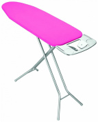 Metaltex Izar Ironing Board with Cloth Hangers Holder, 114 x 38 cm