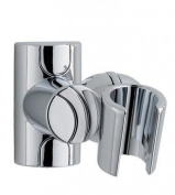 shower head holder chrome adjustable just screw to wall