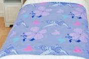 Character World Disney Fairies Butterflies Rotary Fleece Blanket