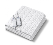 Monogram Allergyfree Heated King Size Dual Controller Mattress Cover with Allergy Protection Using HHL Technology