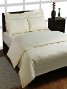 Homescapes 200 Thread Count Ultrasoft House Wife Pillowcase - Plain Cream - 100% Egyptian Cotton Percale, Anti Dust mite