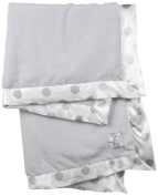 Little Giraffe Luxe New Dot Baby Blanket